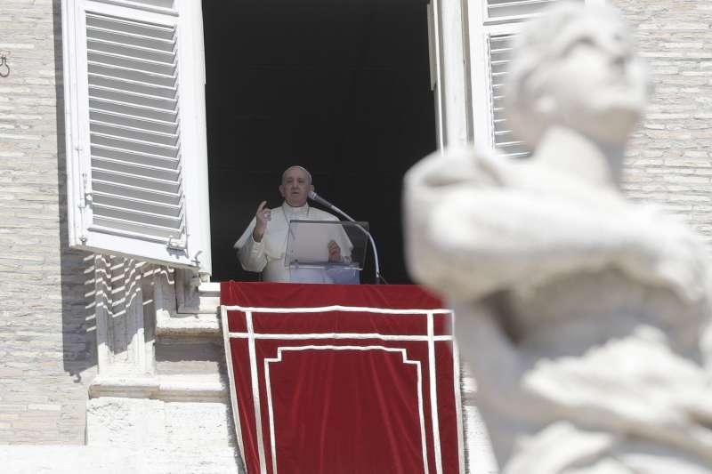 教廷與中國的《主教任命協議》效期有望延續,圖為教宗方濟各(AP)