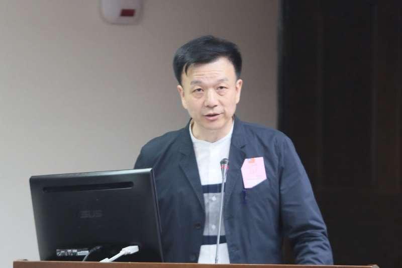 國民黨桃園市黃國園黨部前主委于北辰(見圖)表示,國民黨一直在避講台灣。(資料照,柯承惠攝)