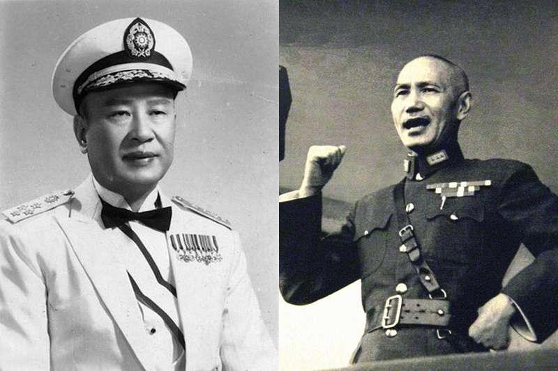 白崇禧(左)與蔣介石。(圖/維基百科)