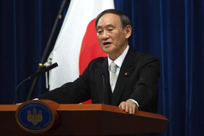 日本新任首相菅義偉。(美聯社)