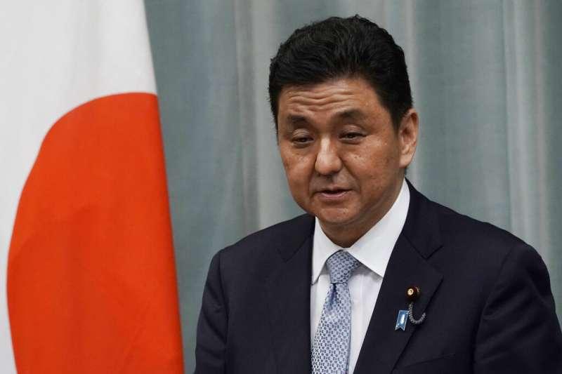 日本新任防衛大臣岸信夫。(美聯社)