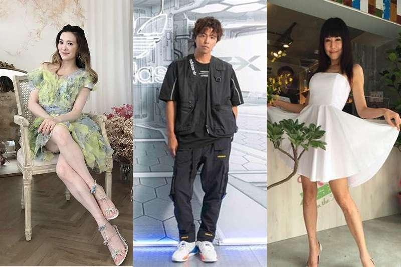 劉真、黃鴻升、羅霈穎…2020年國內外演藝圈有許多明星殞落。(圖/風傳媒合成)