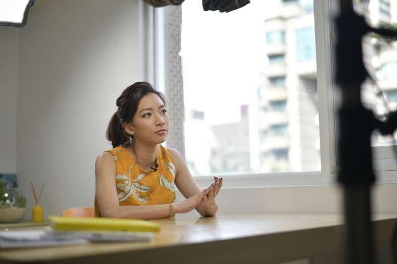 新北女力第2季,知名演員陳妤。(圖/新北市新聞局提供)