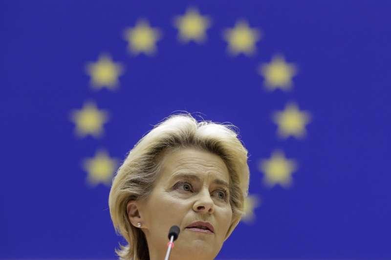 歐盟執委會主席馮德萊恩。(AP)