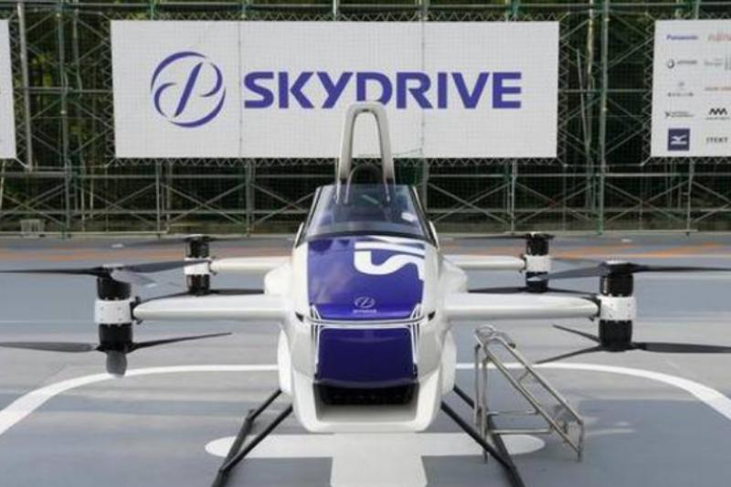 SkyDrive飛行汽車(圖片來源:BusinessLine)