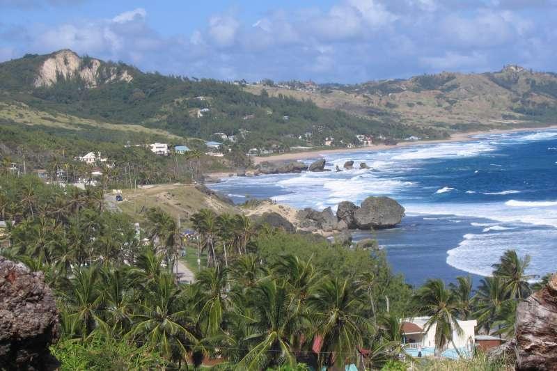 加勒比海島國巴貝多(Barbados)(Postdlf@Wikipedia / CC BY-SA 3.0)