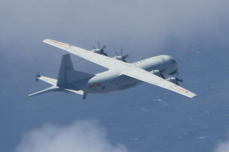 20200921-21日有2架共機運8反潛機進入我西南防空識別區。(空軍司令部提供)