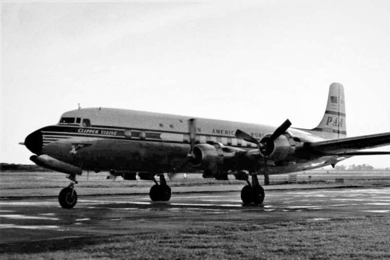 泛美航空的道格拉斯DC-6B客機。(示意圖/維基百科)