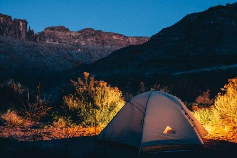 選擇合法露營地紮營,才能玩得開心又安心!(圖/取自網路溫度計)