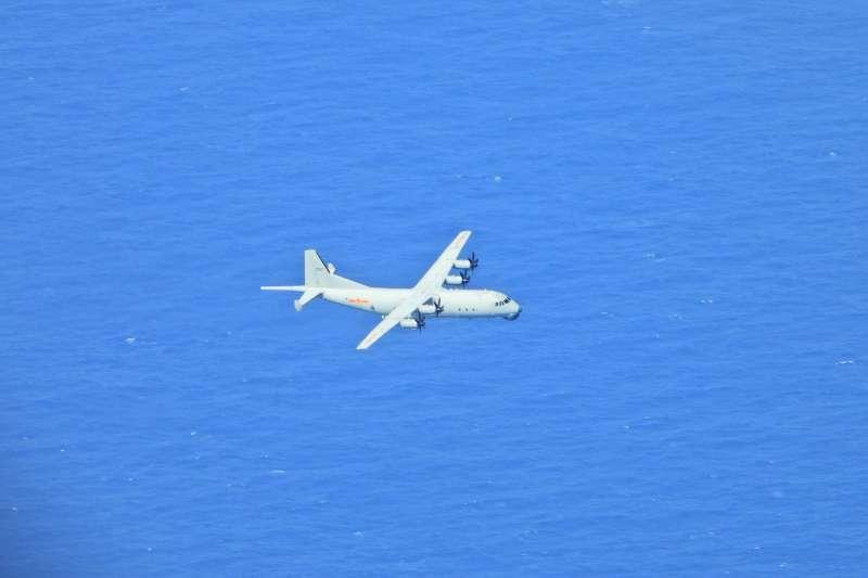 22日再有共機擾台,也是過去6天以來的第5次。圖為運8反潛機。(空軍司令部提供)