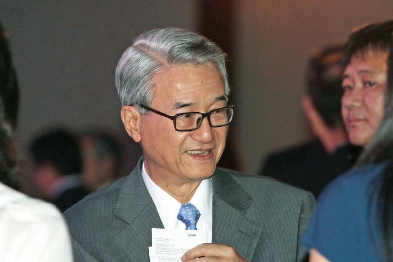 吳東進所管理的新光金,從2000年以來,幾乎每場金融風暴都「有事」。(郭晉瑋攝)