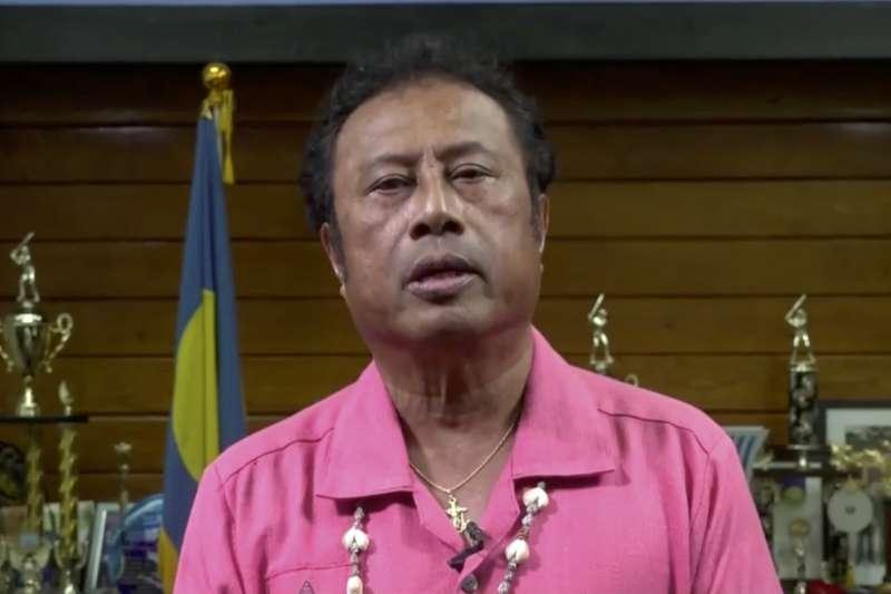帛琉總統雷蒙傑索(AP)