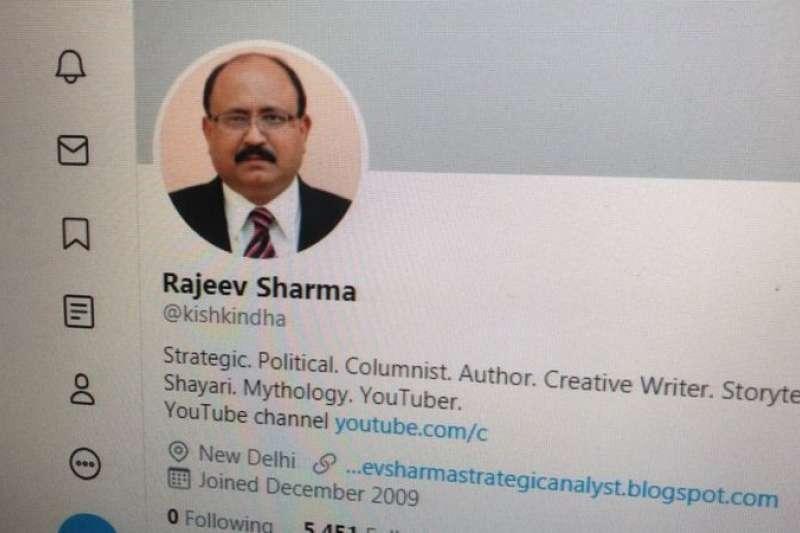 印度自由撰稿記者拉吉夫·夏爾馬(Rajeev Sharma)遭逮。(BBC News中文)