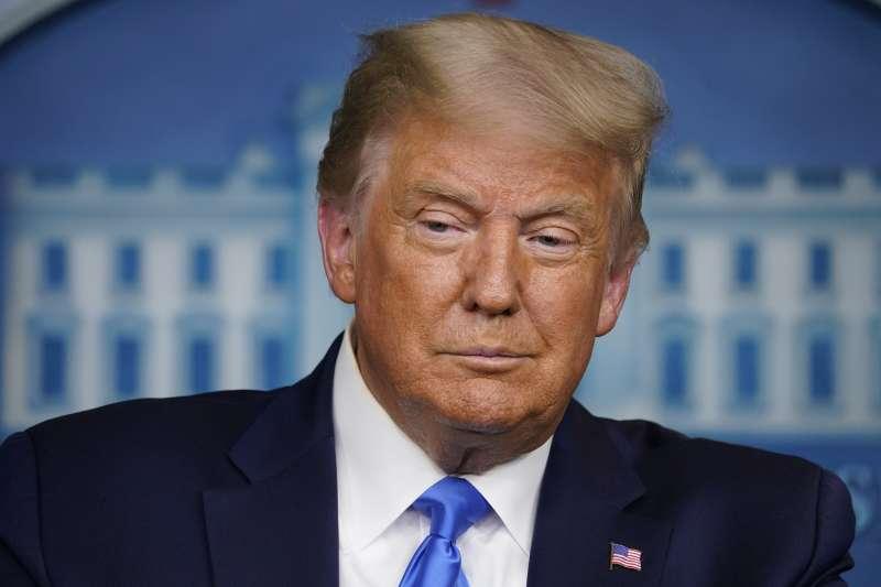 2020美國總統大選:川普(AP)