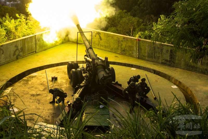 20200925-155公厘加農砲。(取自軍聞社)