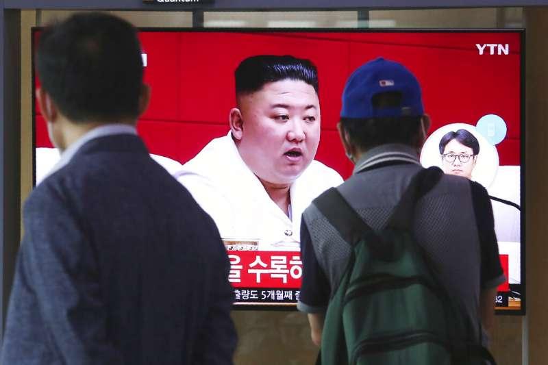 朝鮮半島9月23日發生北韓士兵射殺南韓公民事件,對此金正恩25日公開向南韓道歉。(AP)