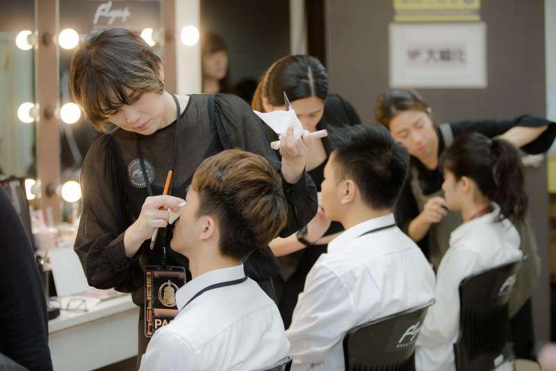 專業彩妝成為金鐘獎指定彩妝品牌。(圖/雅麗安國際提供)