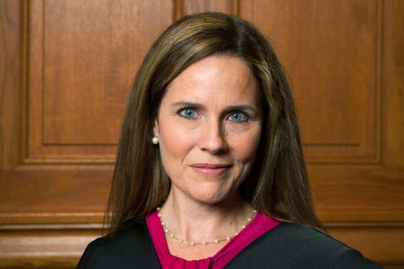 美國聯邦最高法院大法官人選:聯邦第7巡迴上訴法院法官巴雷特(資料照,AP)