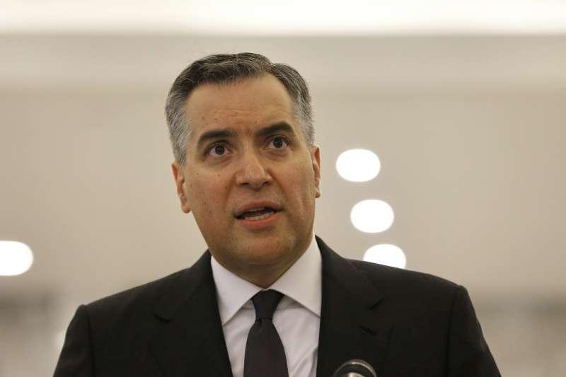 黎巴嫩新總理指定人選阿迪布(Mustapha Adib)因籌組內閣失敗而自請換人。(AP)