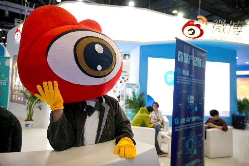 微博被視為「中國版推特」(資料照,AP)