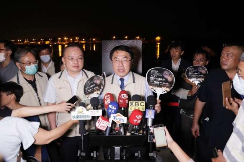 針對南鐵地下化拒遷戶遭突擊強拆,台南市長黃偉哲13日表示,市府不到最後關頭,不輕言放棄溝通,但事情總是要有落幕的時候。(資料照,台南市政府提供)