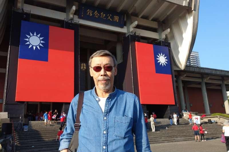 國民黨首場「國際民主沙龍」邀請到知名影星馮淬帆(見圖)開講。(取自馮淬帆臉書)