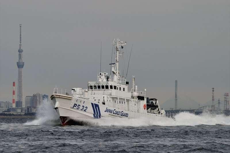 海上保安廳的「くりま」巡視船(舷號PS-32)。(海上保安廳官網)
