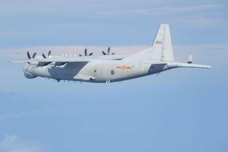 解放軍多次派遣運-8等型號軍機進入我防空識別區擾台。(國防部提供)