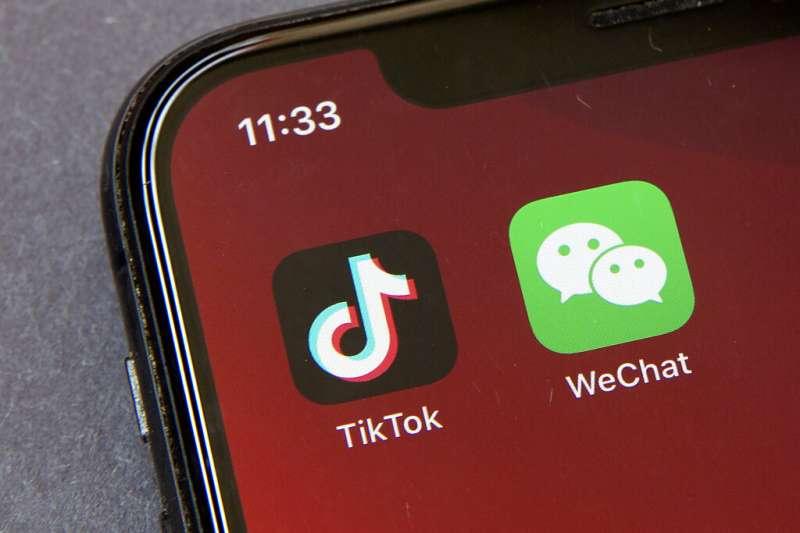 印度封鎖TikTok等中國App。(美聯社)