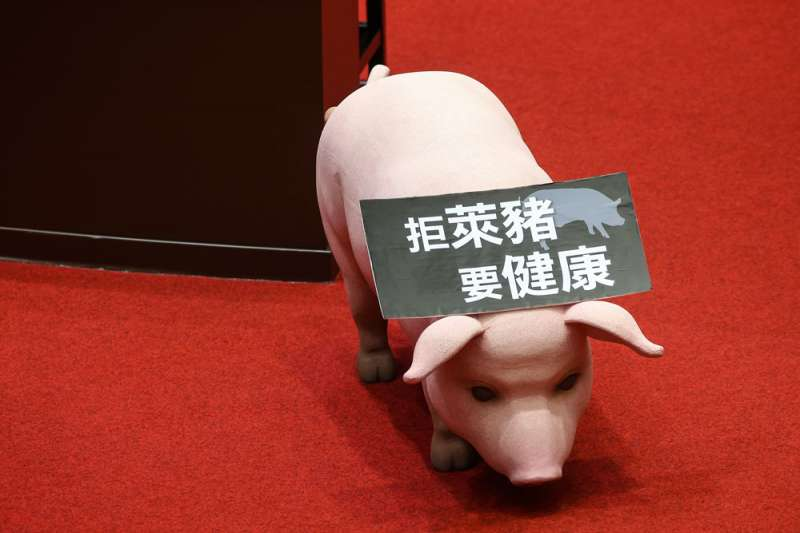 藍綠接連反美豬,美國對台灣「民主政治」充滿無法信任的風險意識。(顏麟宇攝)