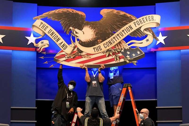 2020美國總統大選:川普與拜登將進行首場辯論(AP)