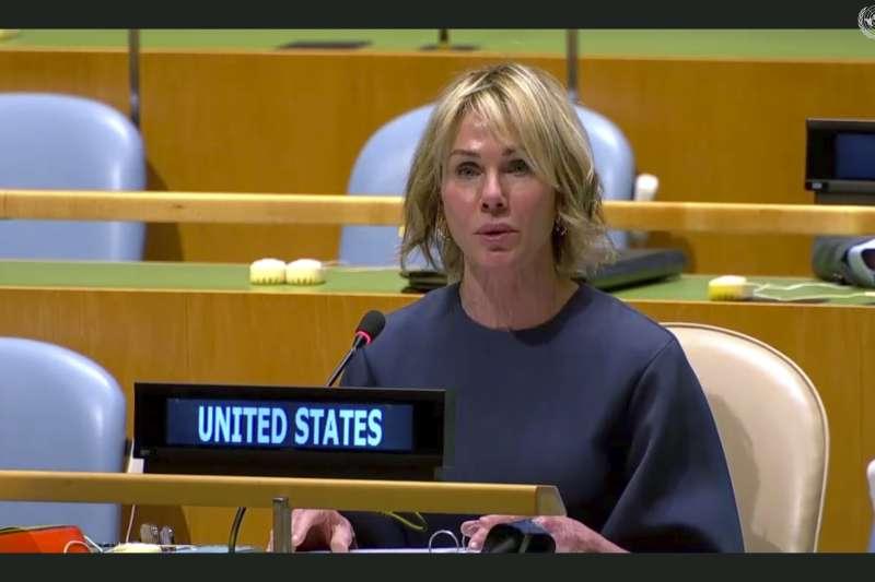 針對美國駐聯合國大使克拉夫特將訪台,外交部長吳釗燮今(11)日受訪時強調,這對台美關係的提升是大事情。(資料照,美聯社)