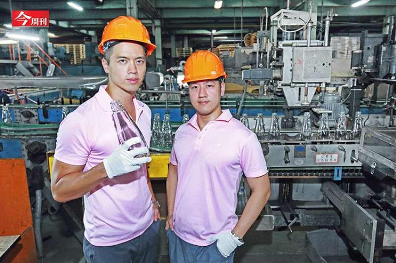 華夏玻璃翻身,第四代接班穩座台灣日用玻璃第一大廠。(攝影:翁挺耀)