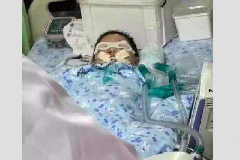中國河南焦作市一名幼兒園教師王雲被控在學生食用的八寶粥內摻入亞硝酸鈉,導致25人中毒,一人不幸身亡。(翻攝自微博)