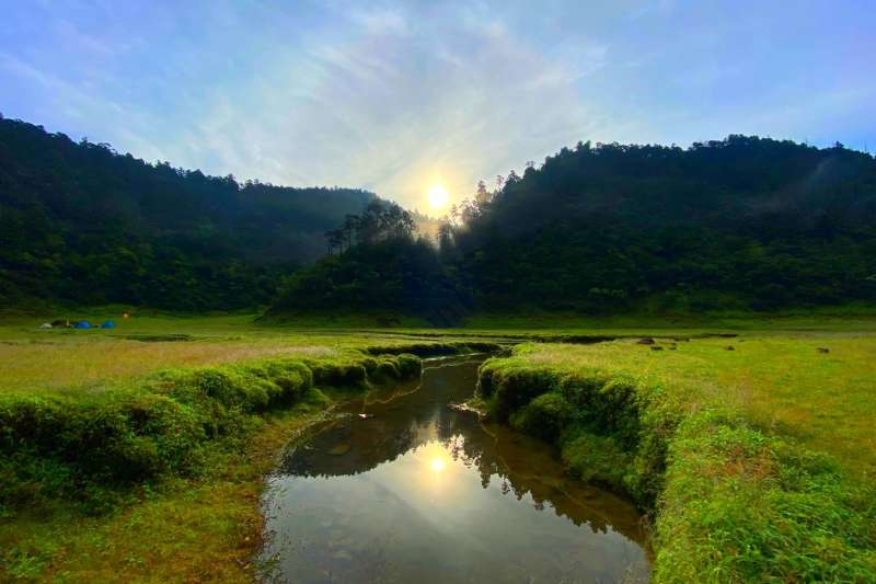 松羅湖 (圖/洪煜勛攝)