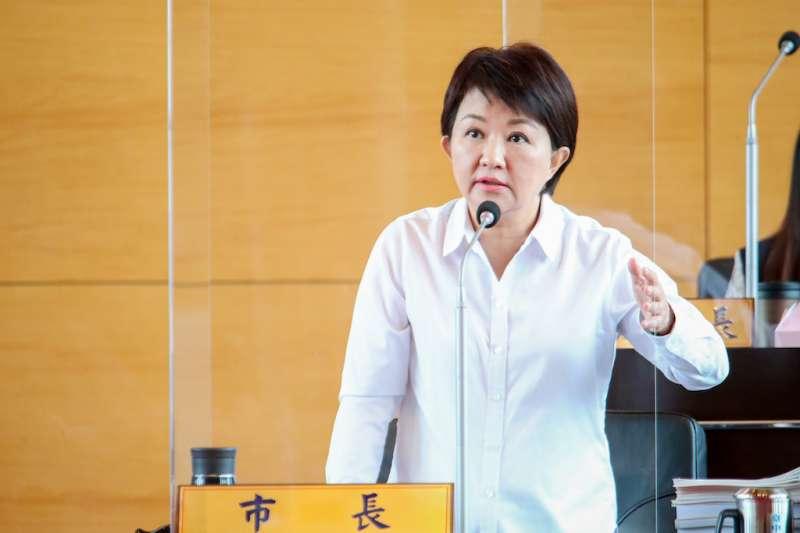 台中市長盧秀燕20日表示,不管是NCC或國家,雖然7比0完封中天,但是沒有勝利,因為這也是完封了新聞自由。(資料照,台中市政府提供)