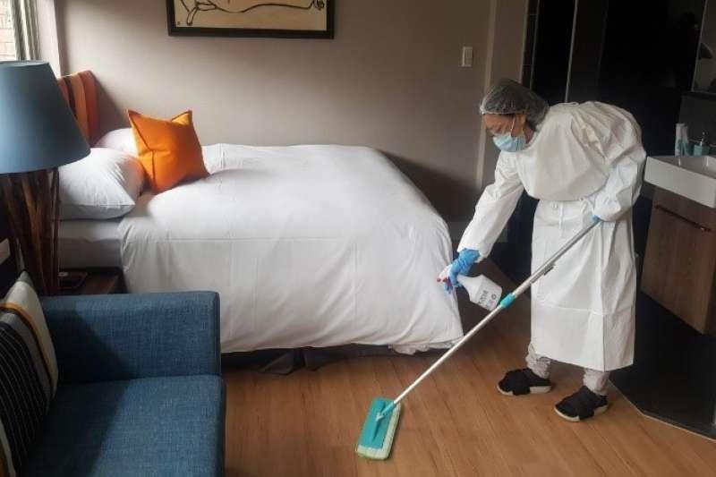 台北市觀傳局今日宣布,11日至28日入住北市防疫旅館,自即日起將僅限台北市民預訂。(資料照,台北市觀傳局提供)