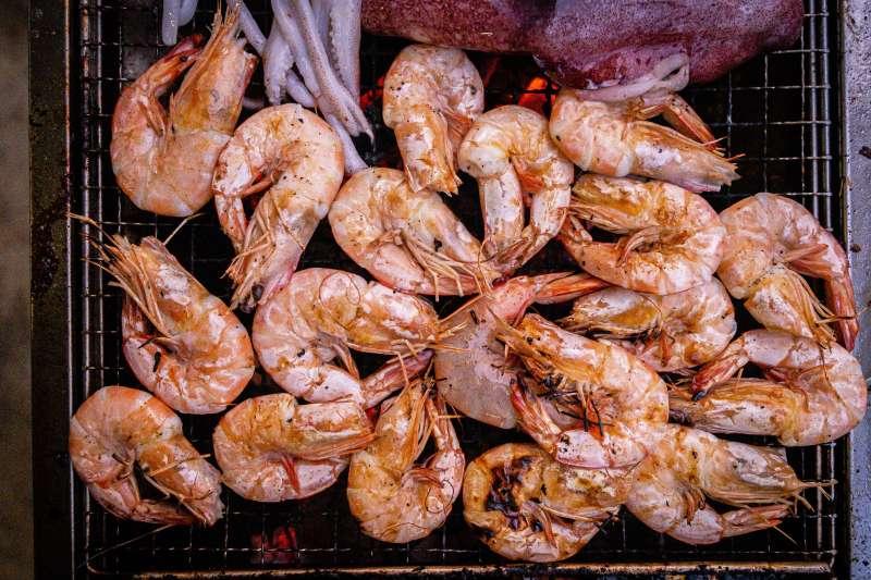 你也愛吃蝦嗎?(圖/取自Unsplash)