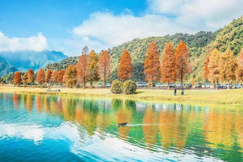 宜蘭太平山毛櫸步道附近原來還有這麼美的自然風景,快找時間來這裡玩一波吧!(圖/cindy_xu3ejo3@Instagram)