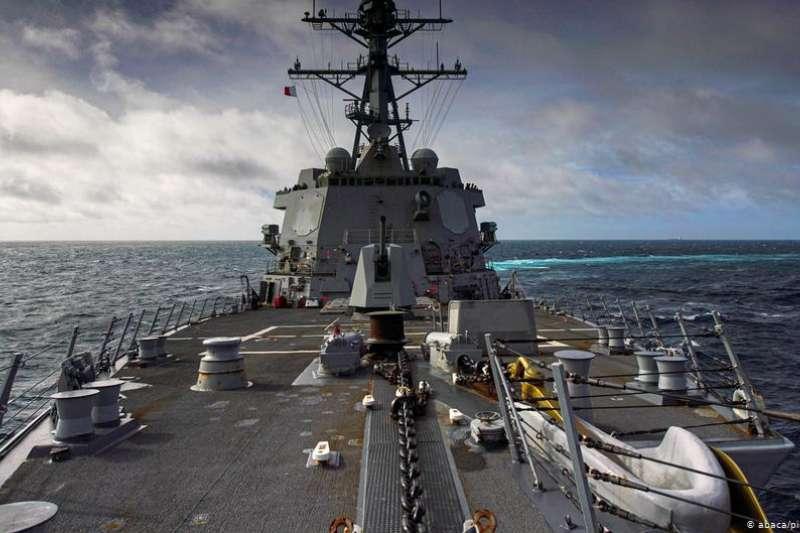 2020年10月,一艘加拿大軍艦穿越敏感的台灣海峽(DW)