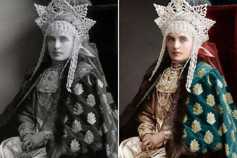 「羅曼諾夫王室烈士項目」:女伯爵艾瑪・佛里德里克。(BBC中文網)
