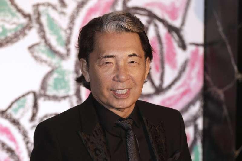 日本時尚設計大師高田賢三(Takada Kenzo)2020年10月4日因新冠肺炎病逝(AP)