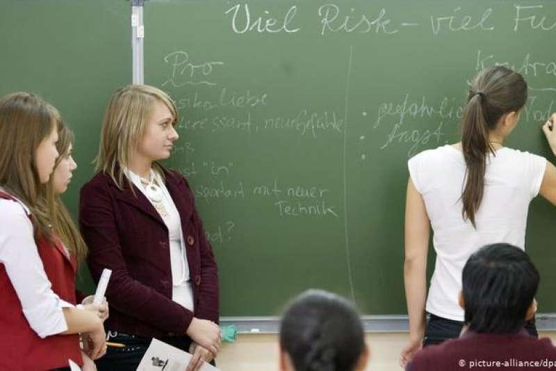 全球各地約有1.3億人的母語是德語或將德語作為第二語言。(圖/DW提供)