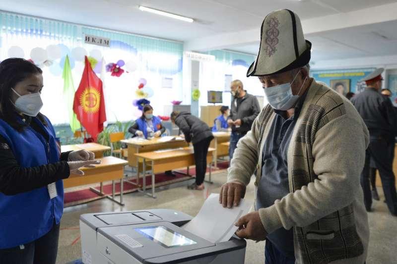 中亞國家吉爾吉斯4日舉行國會大選(美聯社)