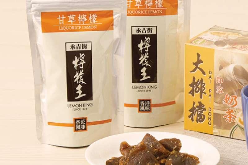 20201007-【必BUY香港辦手禮】檸檬王香港大排檔奶茶。(資料照,寶雅提供)