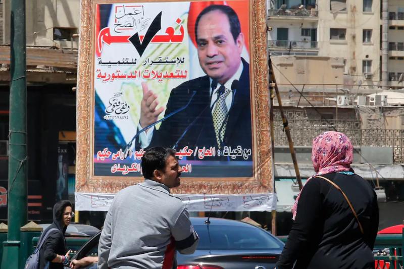 埃及社會風氣保守,總統塞西領導的政府持續打壓人權(美聯社)
