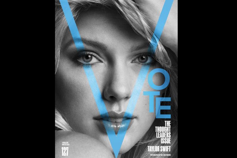 歌手泰勒絲8日於推特上公開表態支持總統候選人拜登,稱拜登與賀錦麗將為美國帶來「療癒的力量」。(截自泰勒絲推特)