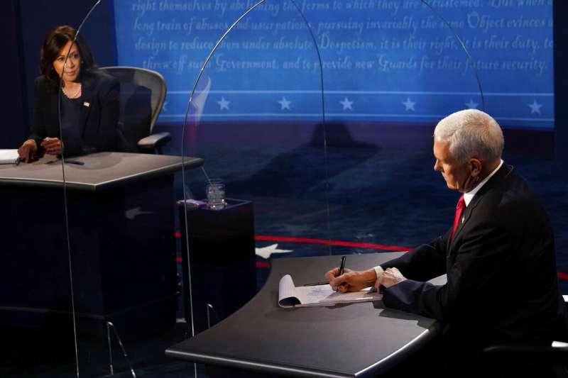 2020美國副總統候選人辯論》溫和禮貌是最大亮點!賀錦麗技壓彭斯一籌,展