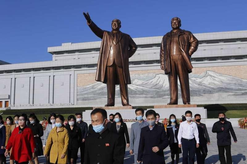 2020年10月10日,北韓(朝鮮)慶祝勞動黨成立75周年(AP)