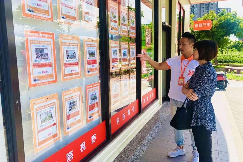 台灣房屋內部成交資料統計顯示,2020年「座西北朝東南」的物件成交最多,其次是很多人排斥的西曬座向「座東朝西」。(台灣房屋提供)